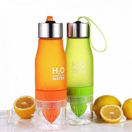 Fruit water bottle